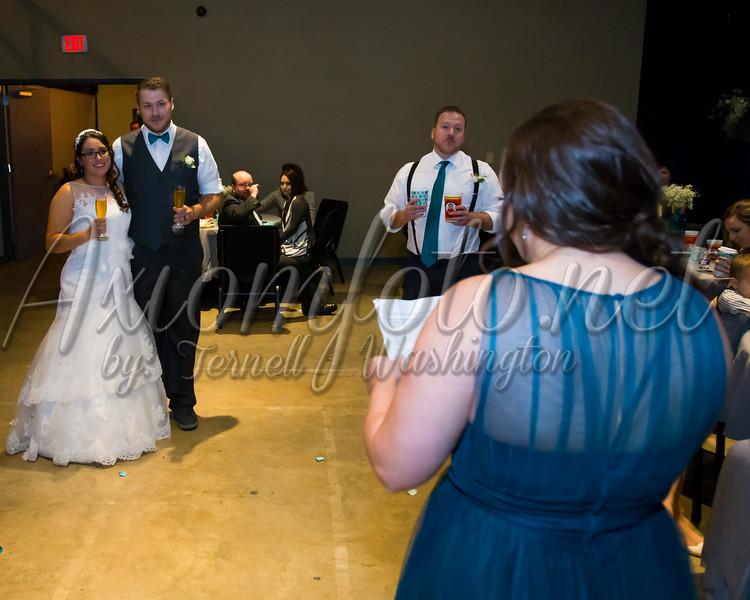 Michelle and TJ Bartlett Wedding