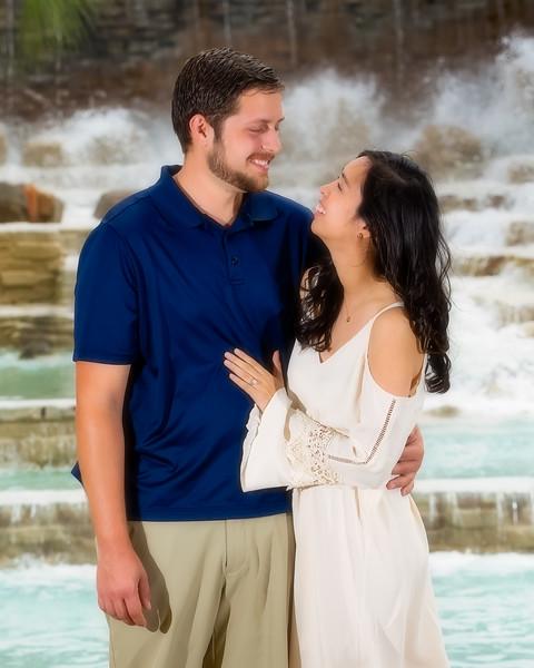 Stephanie and Brandon by Ternell Washington