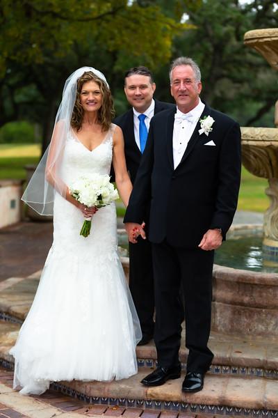 Tracy Baker and Basil Casteleyn Wedding