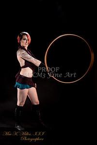 Jessica and the hula hoop.
