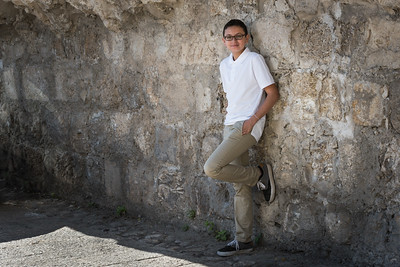 Gabe Melville's Bar Mitzvah in Jerusalem