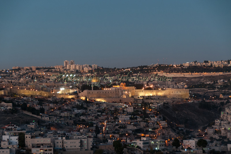 Jerusalem Twilight 120