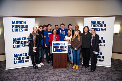 Soze March for Our Lives Reception