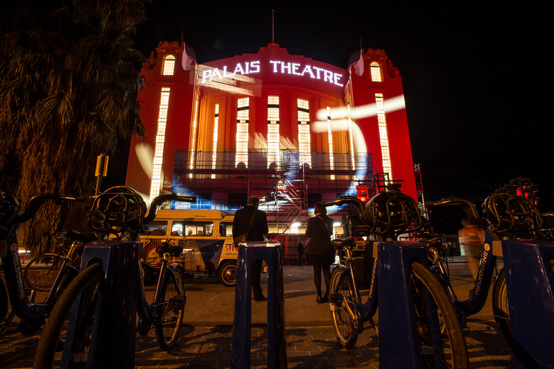 great to see a full house at the opeing night of the st kilda film festival. the refurbished Palais Theatere looks amazing. Congrats to all for making this iconic landmark shine again!