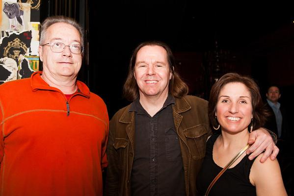 Michael O'Brien, Mark and Ally Lofgren