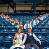 Great day with a great couple. Seats were a great place to watch the sprinklers on the infield before the reception at Hensville. Congrats @racwilks and RJ as you start your married life. #weddingphotoraphy #mudhens #fifththirdfield #ohioweddingphotography