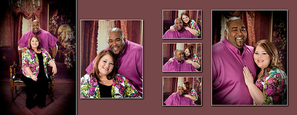 Lawerence and Trisha Engagement sign in 002 (Sides 3-4)