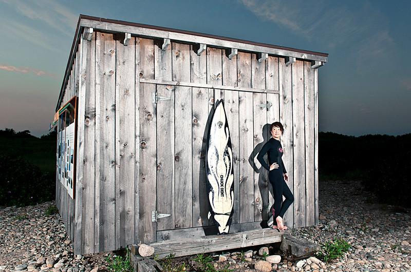 Active lifestyle portraits shot on location
