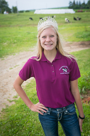 2016 Goodhue County Dairy Princesses