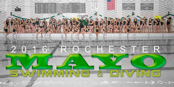 2016 Mayo Girls Swimming