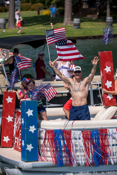 Russell Lands 2018, Boat Parade