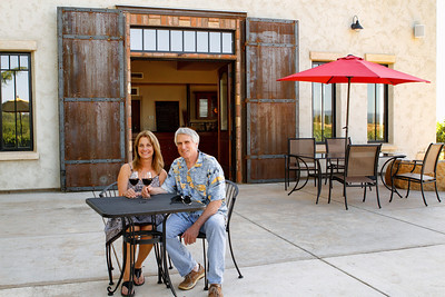 Owners of Grace Patriot Winery, Steve and Bea Grace