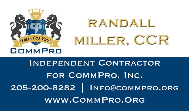 Randall Miller, CCR