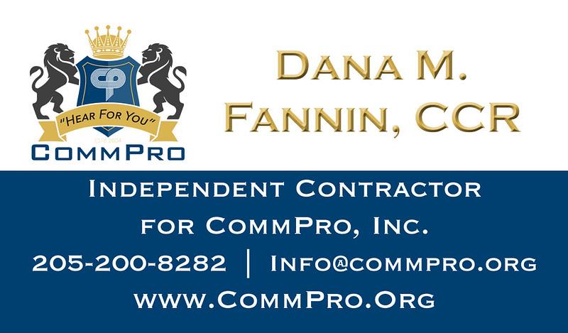 Dana M  Fannin, CCR