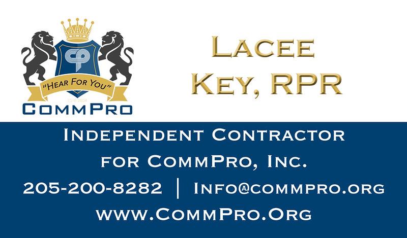 Lacee Key, RPR