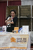 Give Me Shelter Cat Rescue Booth