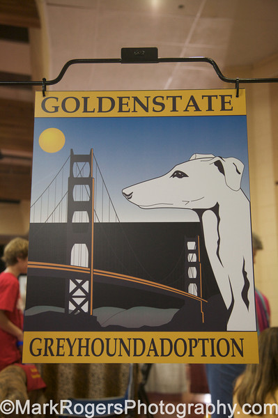 Golden State Greyhound Adoption Booth