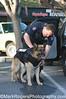 Officer Steve Vegas and Niko <br /> German Shepherd<br /> Burlingame Police Department K-9 Unit