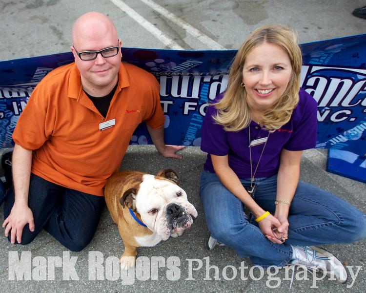 Burlingame Pet Food Express staff and official Tillman groupies