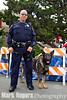 Burlingame Police Officer Roy Bryson and his partner, Ivan, of the Burlingame PD K9 Unit