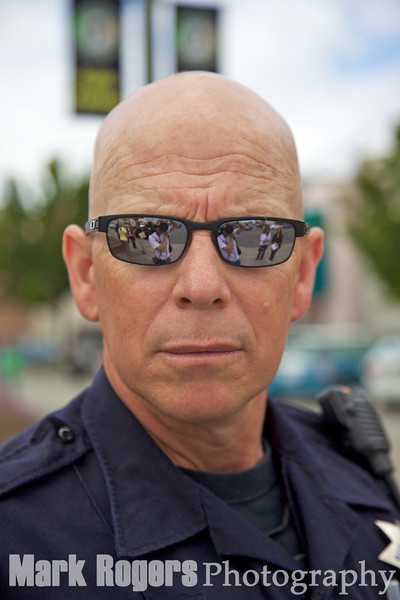 Burlingame Police Officer Roy Bryson