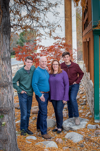 Declan, Tiernan, Annette & Jed