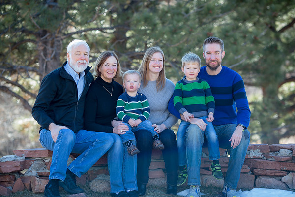 Declan, Finn and Family