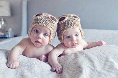 Heinemann Twins | 3 Months