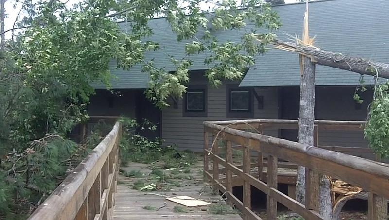 Video of damage at Children's Harbor