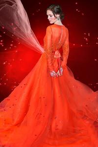 Model Coca Rocha - Dennis Basso Fashion