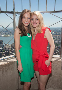 Tony Awards Nominees at the Empire State Building