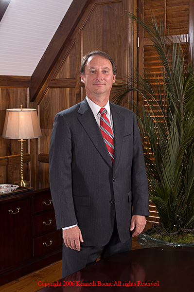 Images of Morris, Haynes & Hornsby attorneys shot in their newly remodeled building in late November and December, 2006.