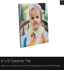 Keepsake: Ceramic Tile