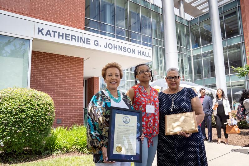 Katherine G. Johnson Hall Dedication Ceremony