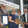 Katherine G. Johnson Hall Dedication Ceremony