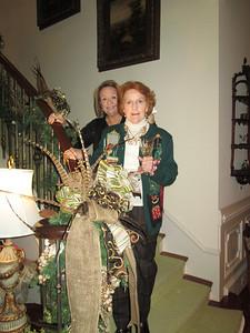 Lynda,Amy on Stairs