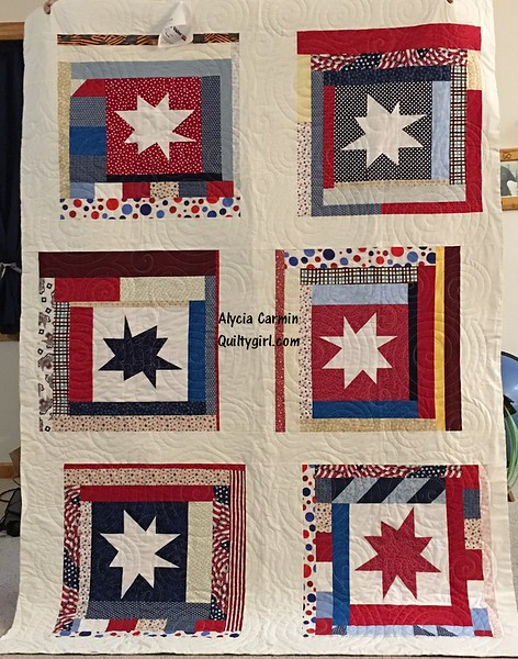 Wonky Stars Quilt of Valor
