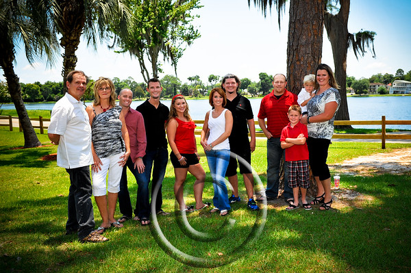Michael Hayes Family 2012