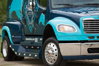 Blue Buffalo Truck Abstracts