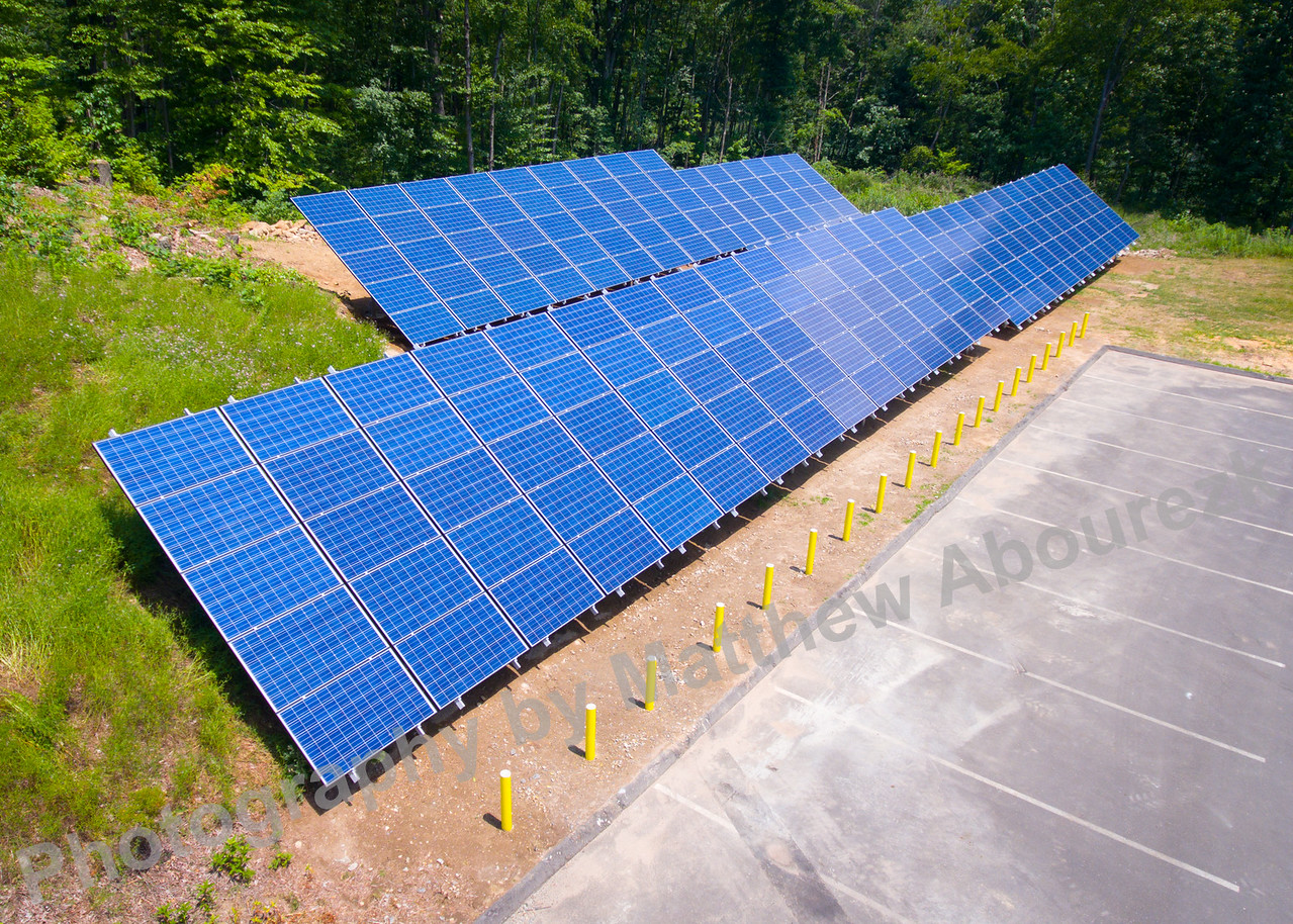 GEM field solar panels