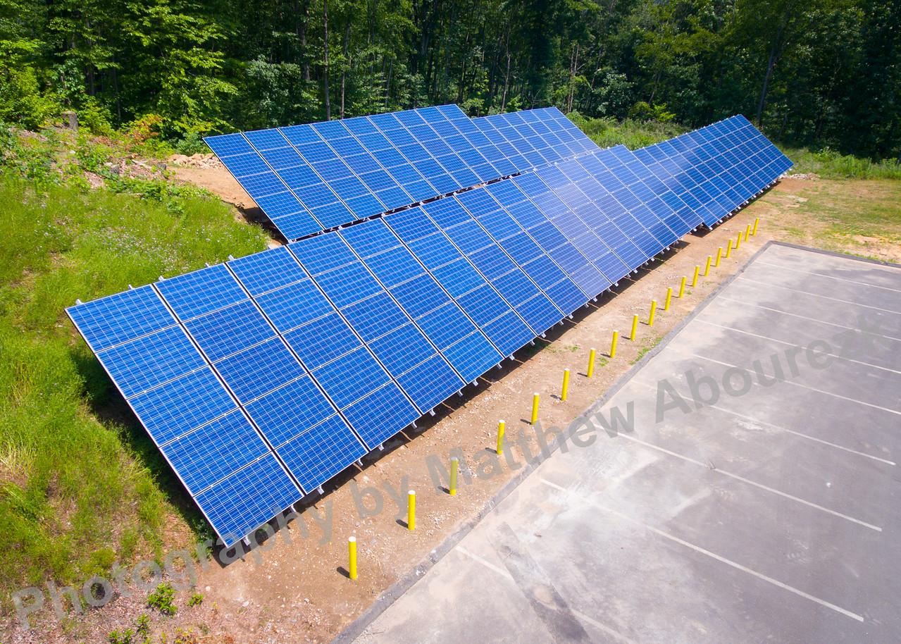GEM field solar panels