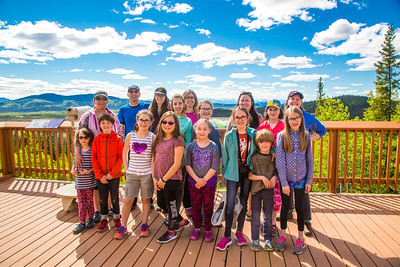June 2017 - Girl Scout Troop 26 Trip to Juneau