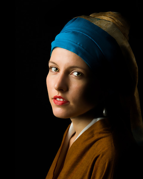 Brittany - Girl with a Pearl Earing