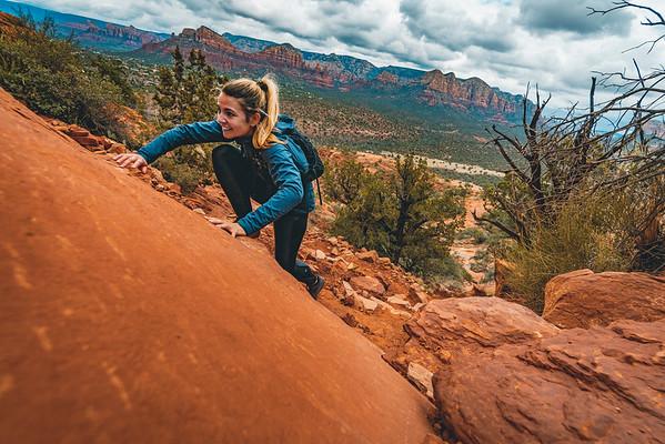 Trail Running in Sedona, Arizona 2018