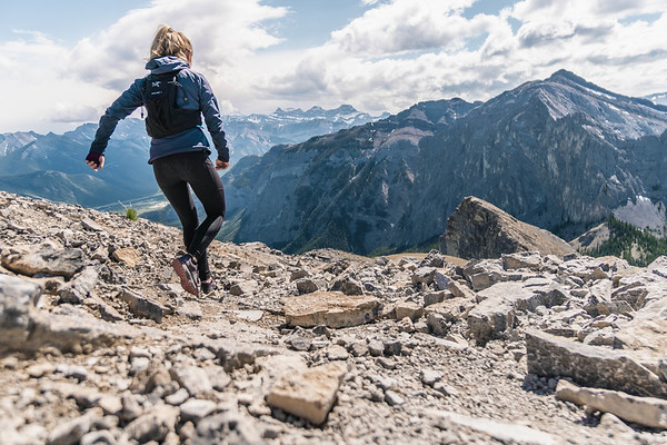Trail Running Above the Bow Valley, Alberta 2018