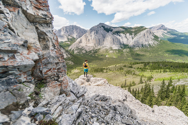 Running The Rockies in the Bow Valley, Alberta 2018