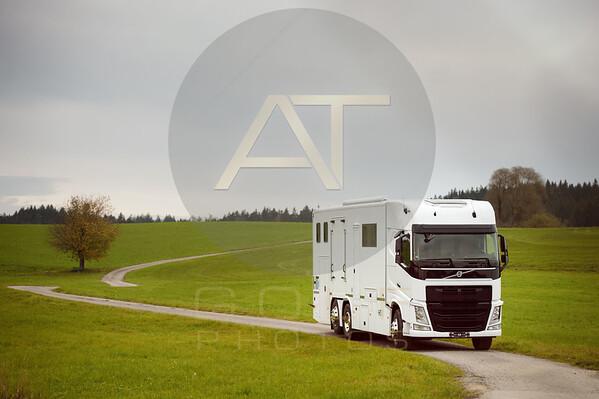 White Volvo Aniko Towers Photo 14k-12