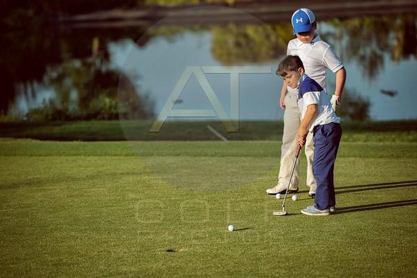 Russell Adams Golf Academy Gaudet Luce Aniko towers Golf Photo-105