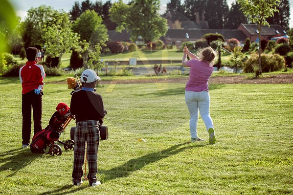 Russell Adams Golf Academy Gaudet Luce Aniko towers Golf Photo-34