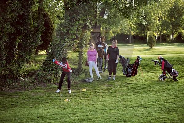 Russell Adams Golf Academy Gaudet Luce Hadzor Aniko towers Golf Photo-11